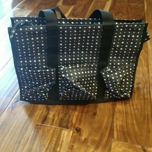 Thirty one zip-top organizing utility tote
